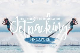 Jet-packing in Singapore