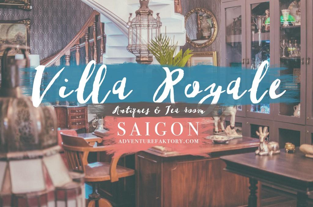 Villa Royale Antiques & Tea Room