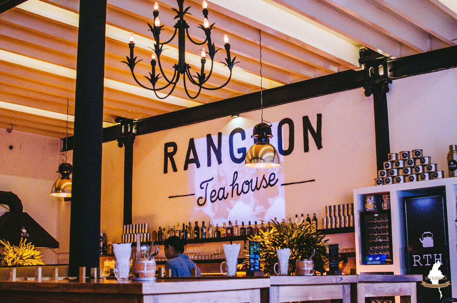Myanmar: Best hipster cafe in Yangon @ Rangoon Teahouse