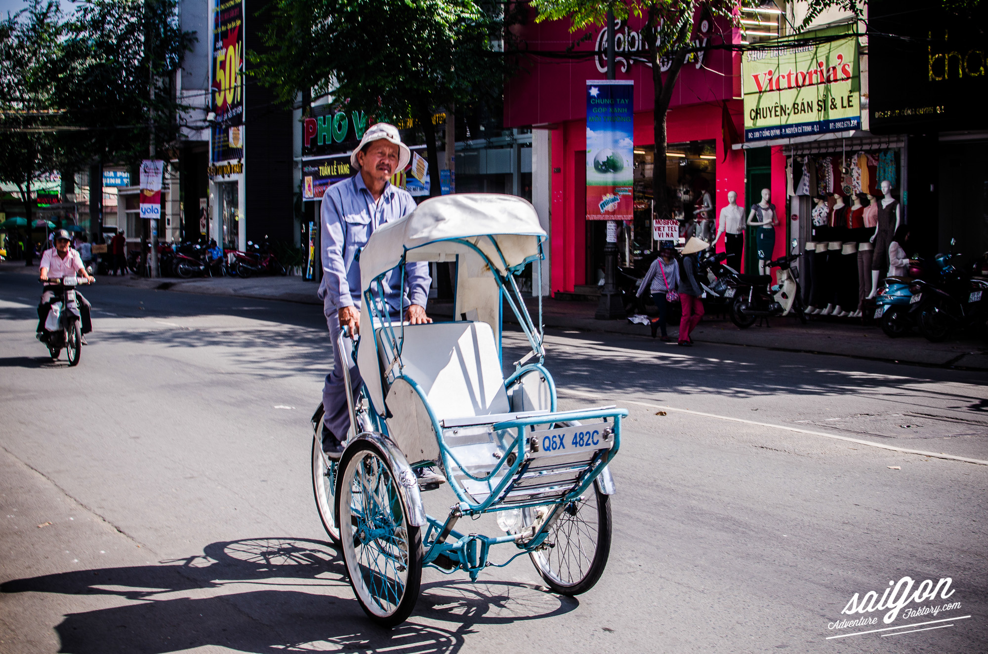Transportation in Vietnam - Xit Lo