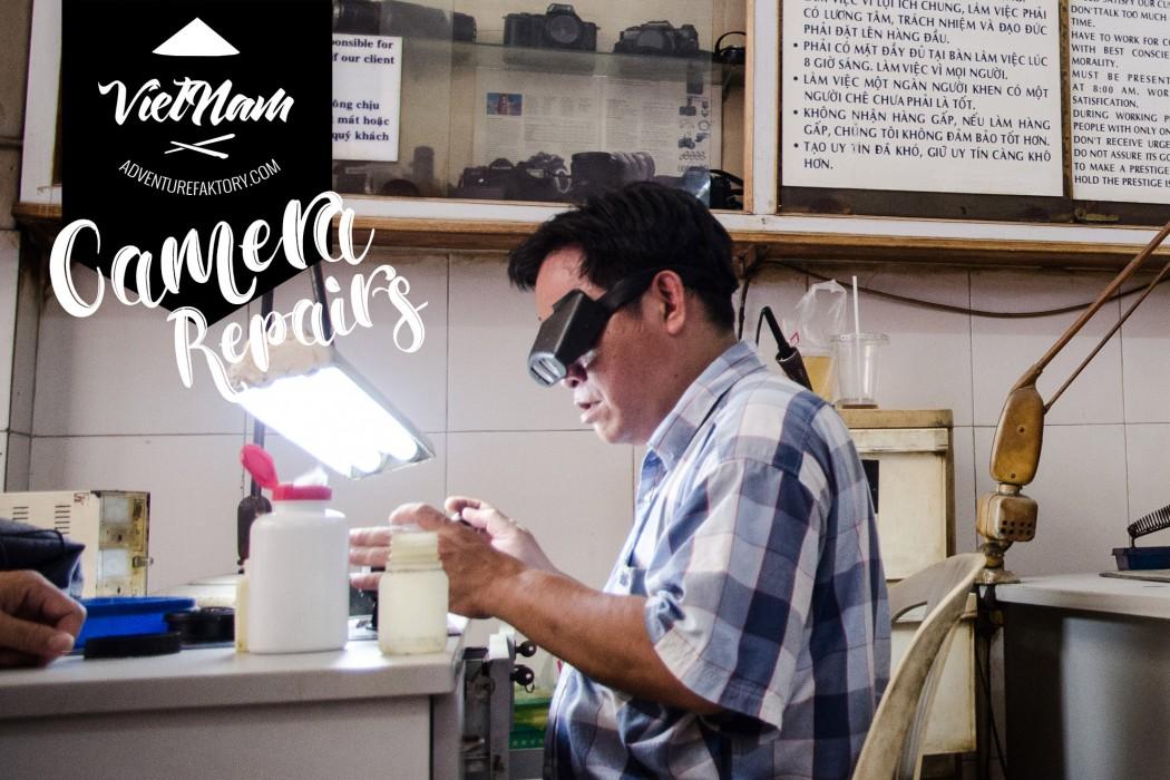 Where to repair your camera in saigon