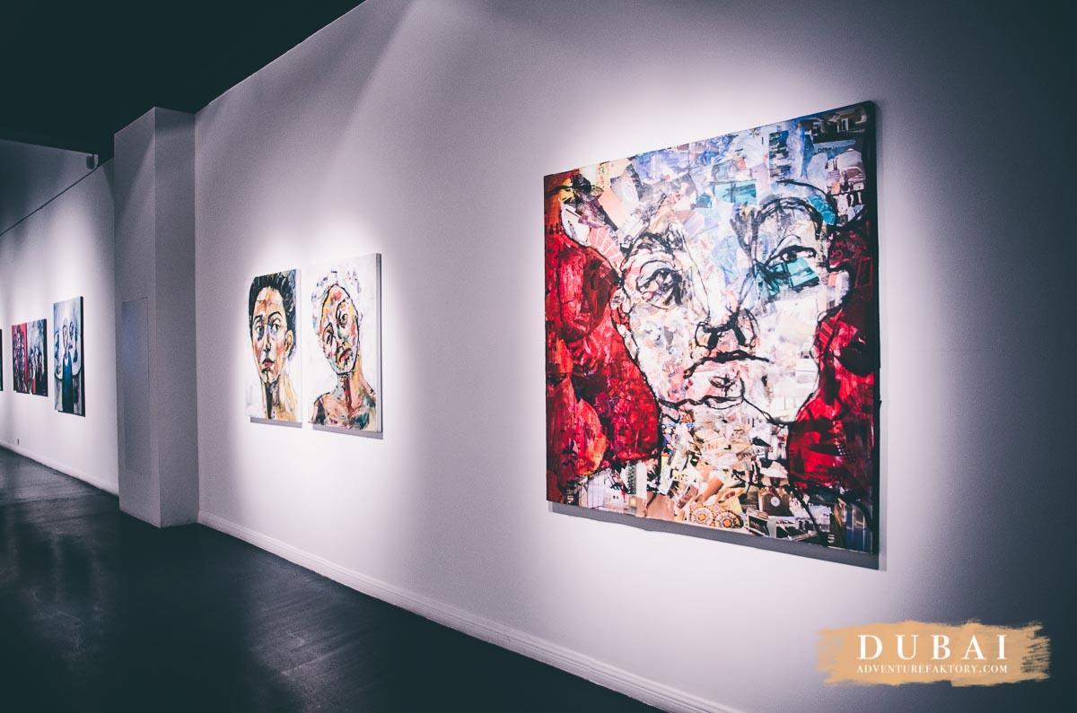 Dubai September 2015 - Sunset & Art day