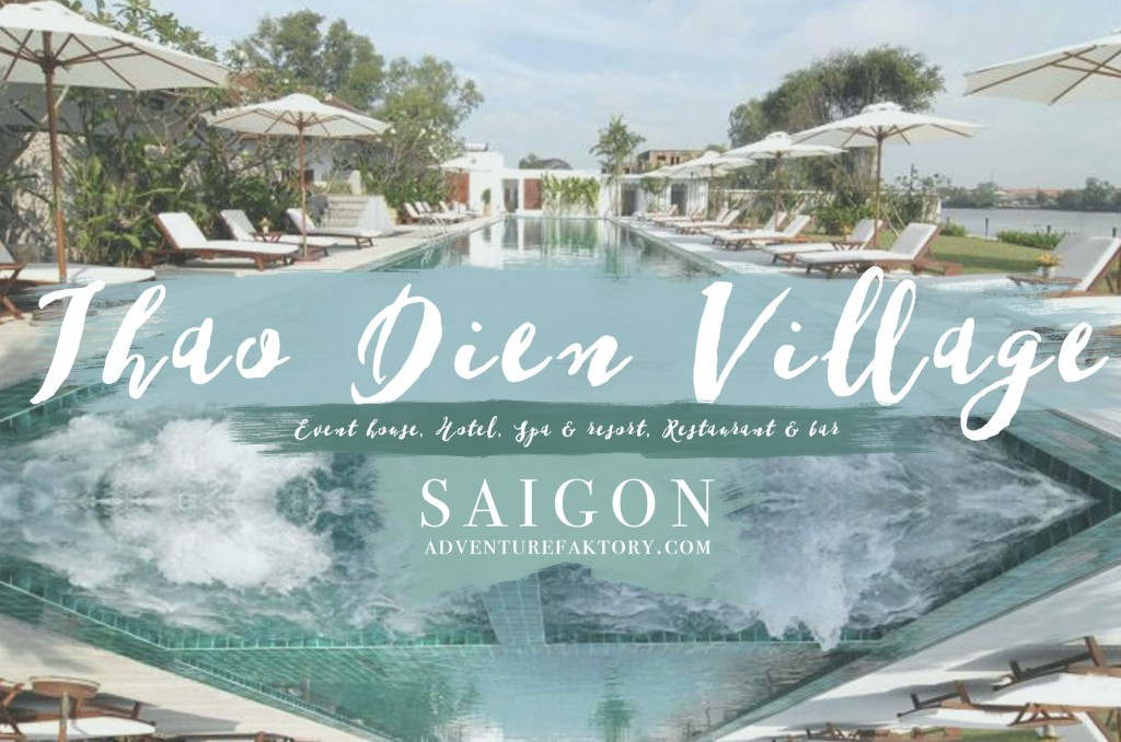 A Hotel tucked in the Thao Dien Loop, with a beautiful pool & restaurant. Great for a drink by the river if you want an other alternative to The Deck. It is situated at 189 ~ 197, 197/1 Nguyen Van Huong Street, Thao Dien.