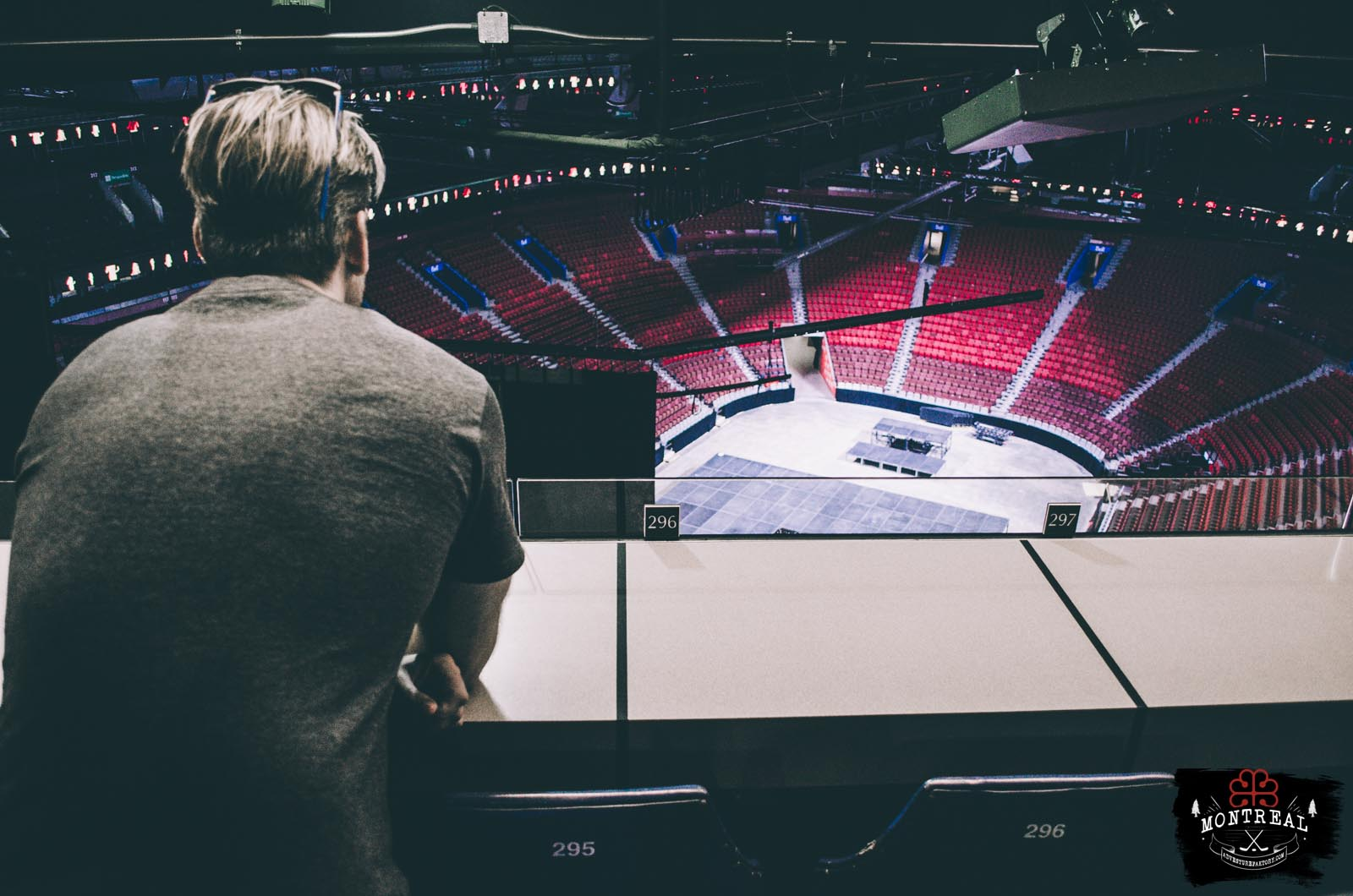 Visiting the Bell Center - Montreal Canadiens