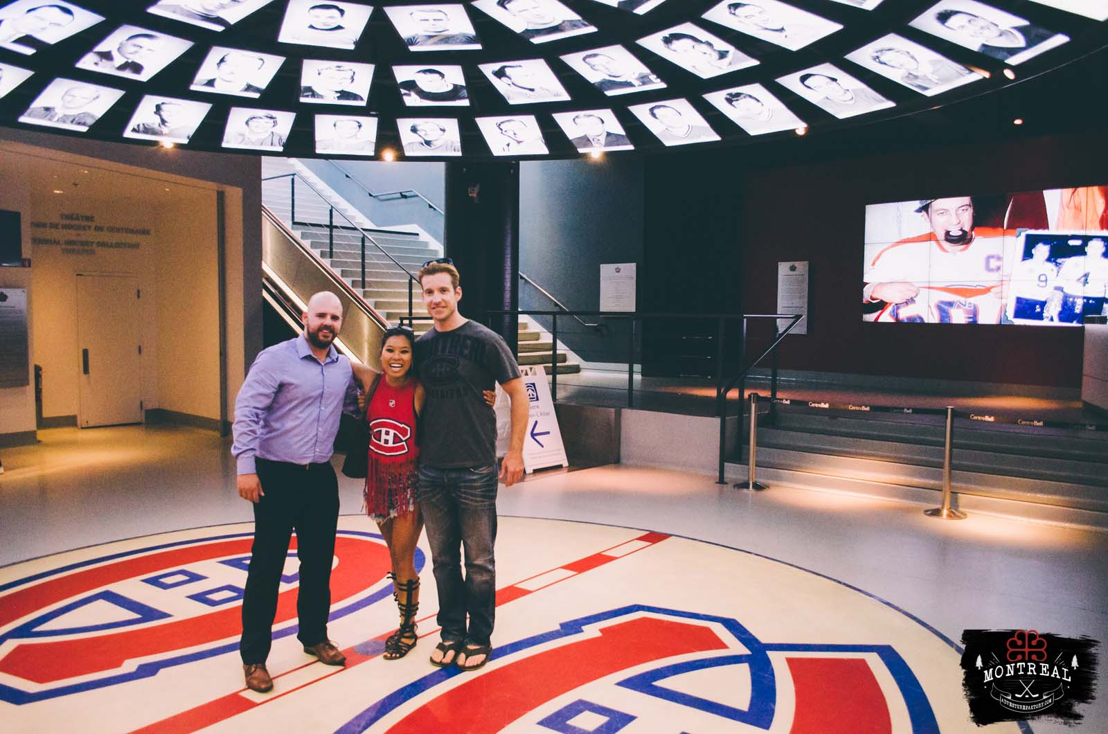 Thank you to the Habs organization, Jon & Jo and Alexandre to arrange us the last minute visit!