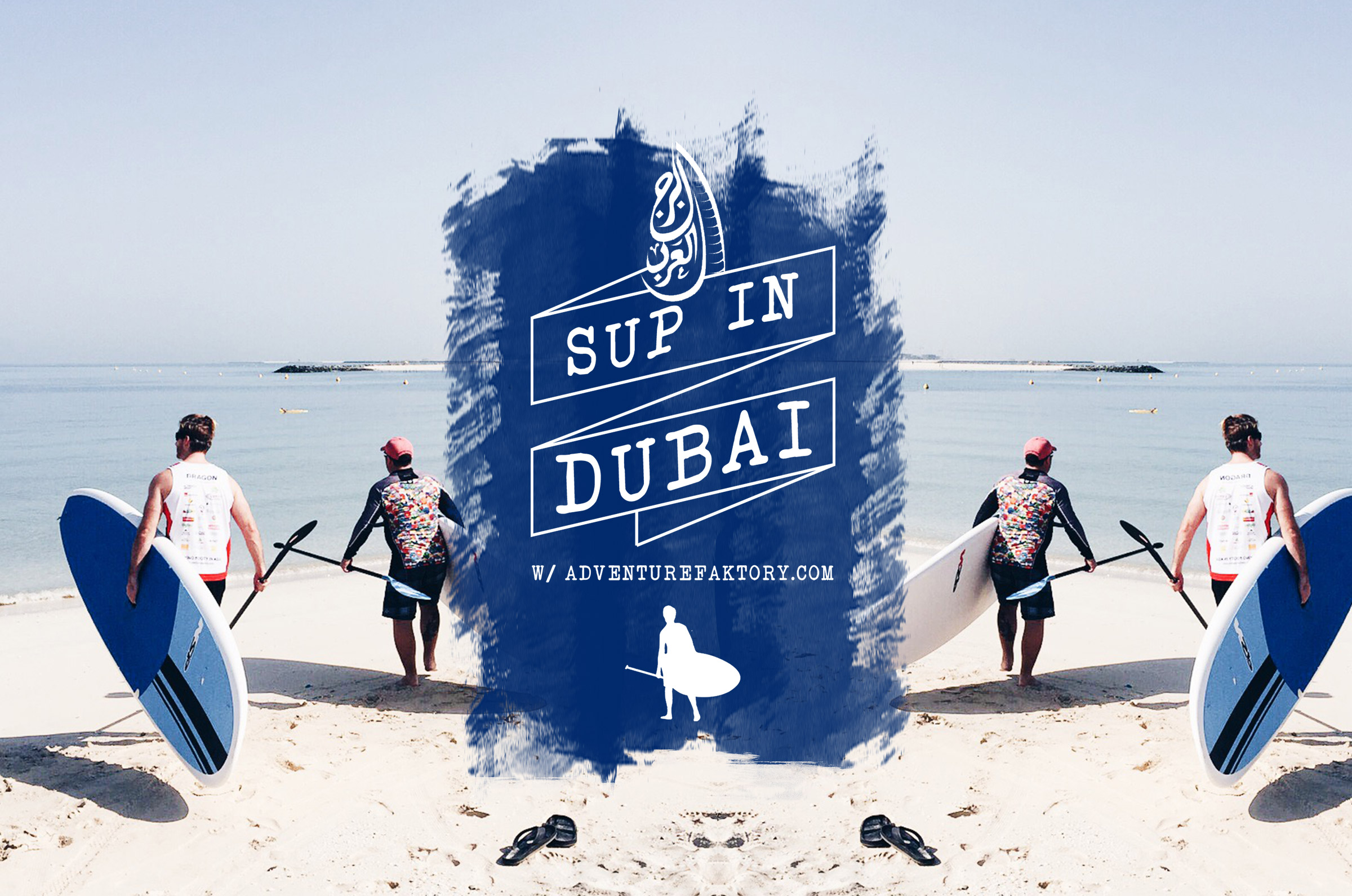 Stand Up Paddleboarding in Dubai