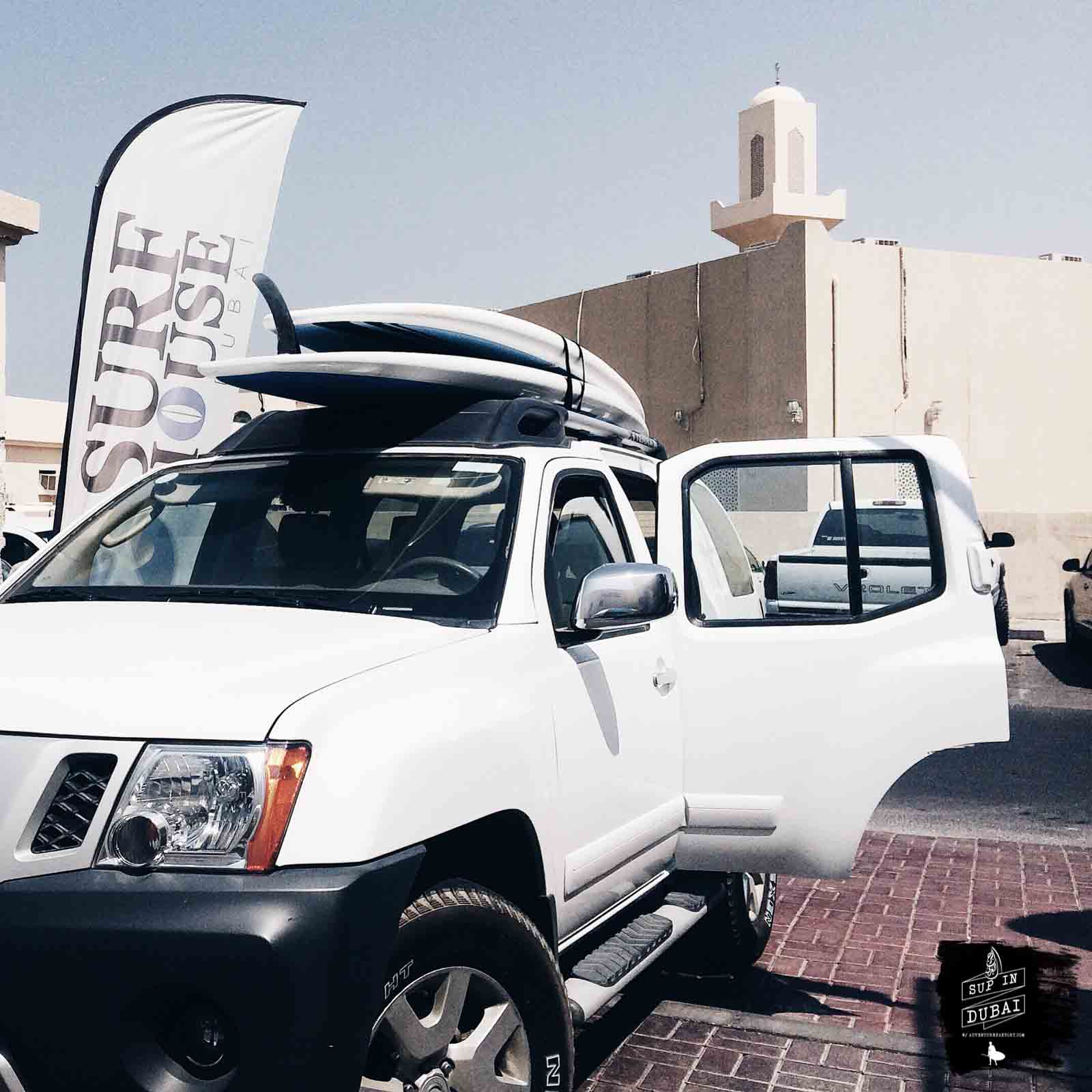 SUP in Dubai with AdventureFaktory
