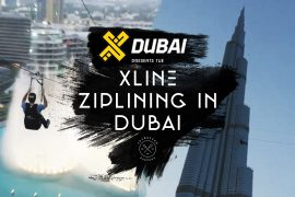 Ziplining in Dubai