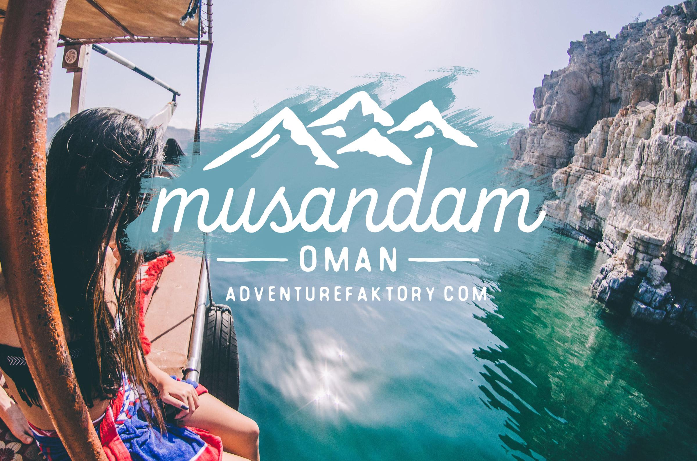 AdventureFaktory x Musandam