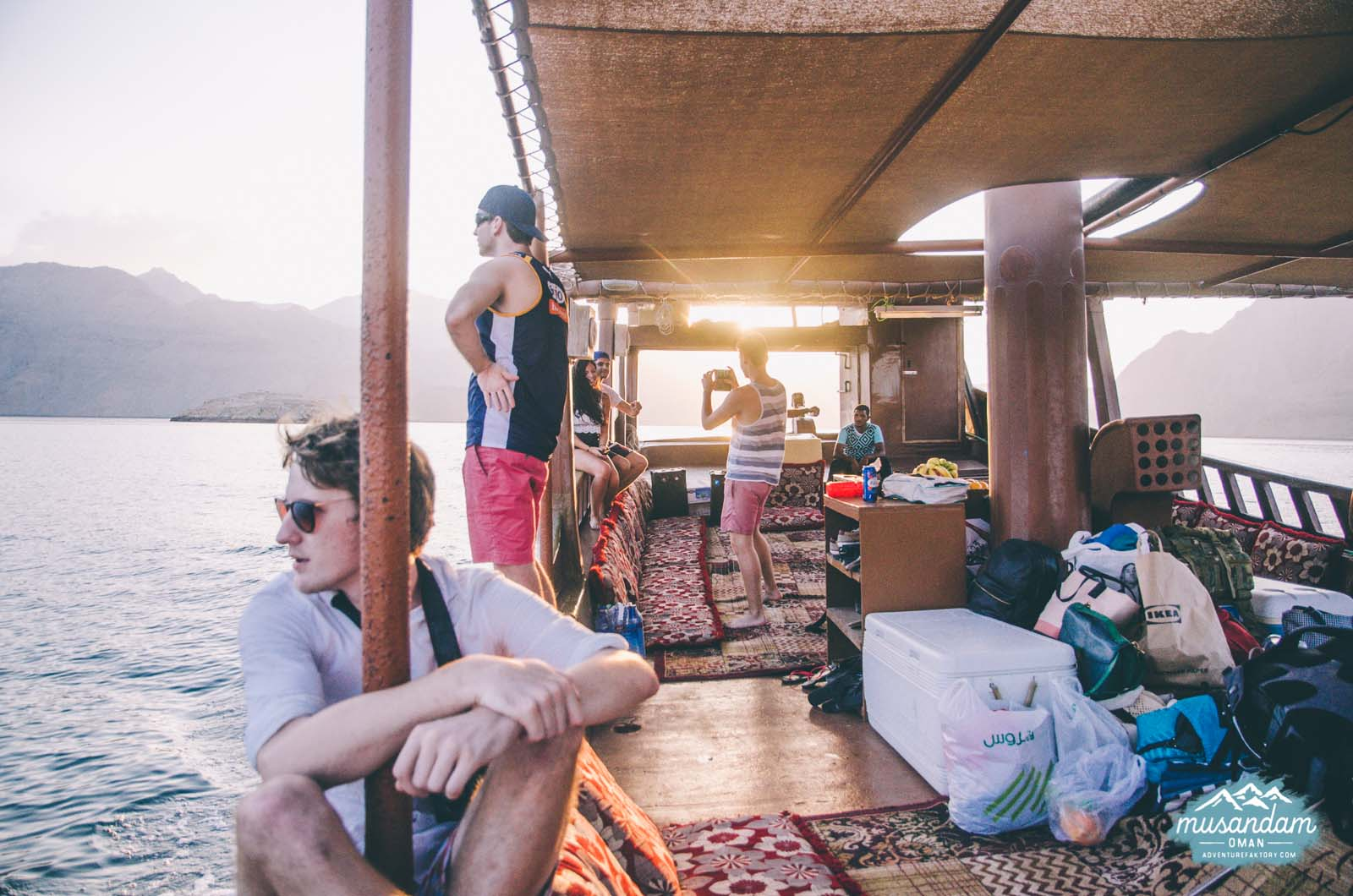 Adventure Faktory x Boat Trip in Oman