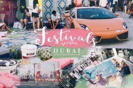 Dubai Festivals by AdventureFaktory