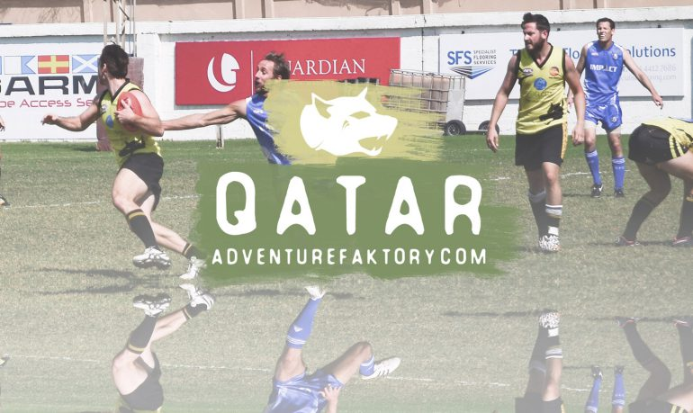 AdventureFaktory x Dubai Dingoes iin Qatar
