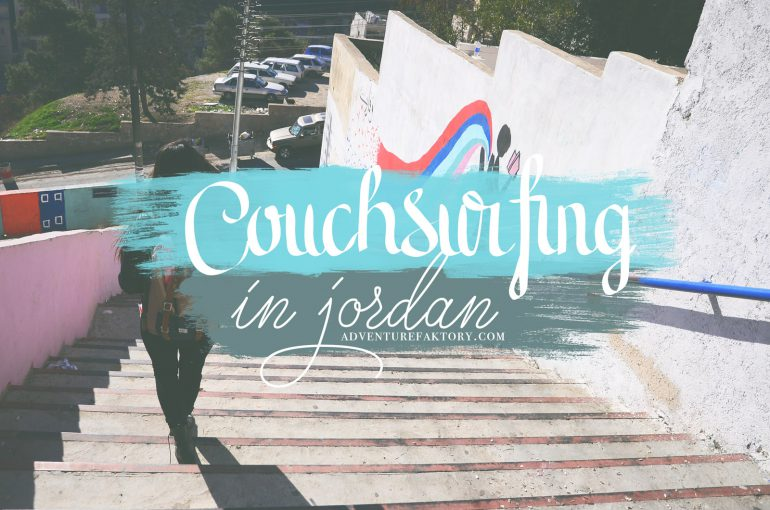 AdventureFaktory Couchsurfing in Jordan