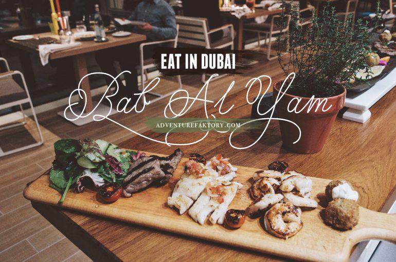 Bab Al Yam at the Burj Al Arab with AdventureFaktory