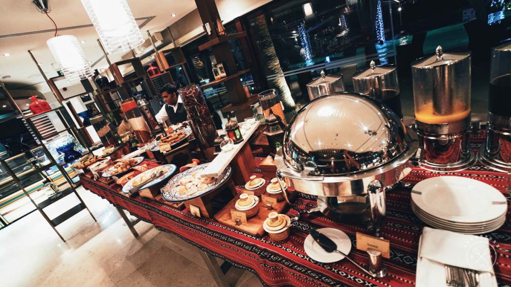 Delicious Iftar at Desert Palm with set menu and open buffet for desserts, yummmm