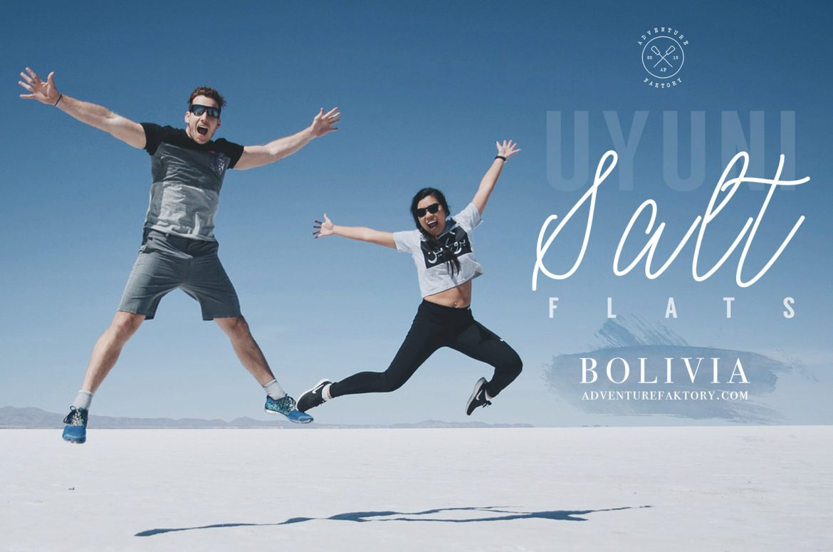 AdventureFaktory in Bolivia at the Uyuni Salt Flats