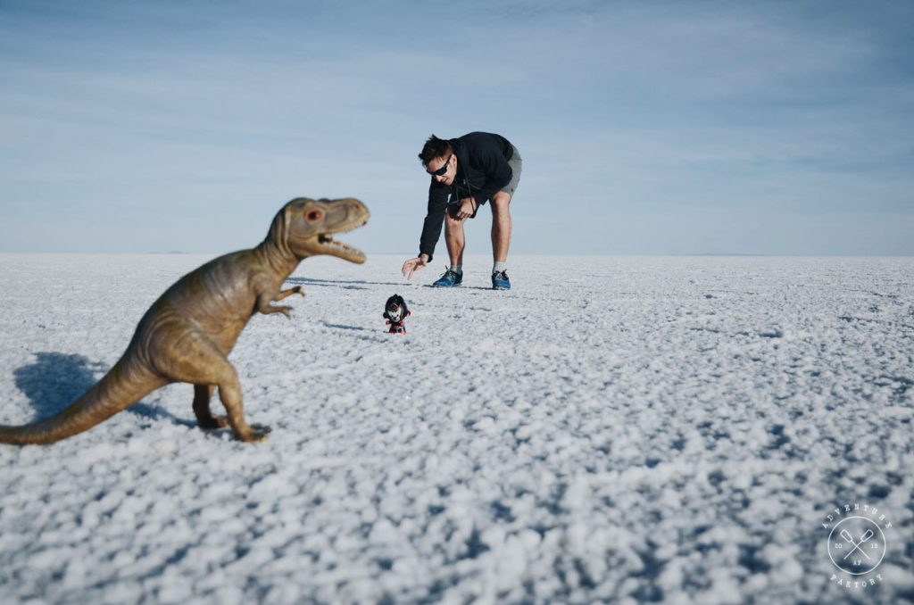 AdventureFaktory in Bolivia at the Uyuni Salt Flats