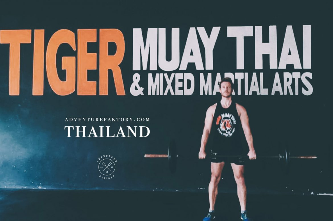 AdventureFaktory x Tiger Muay Thai