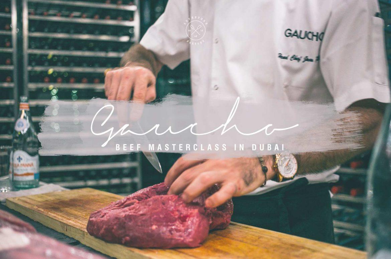 AdventureFaktory doing a Beef Masterclass at Gaucho Dubai