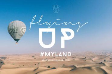 AdventureFaktory flies with Land Rover, Royal Shaheen and Balloon Adventures