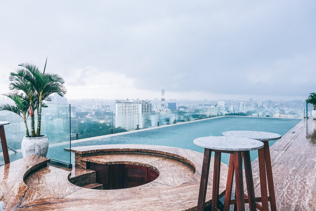 An escape in the middle of busy Ho Chi Minh City at Hotel Des Arts ...