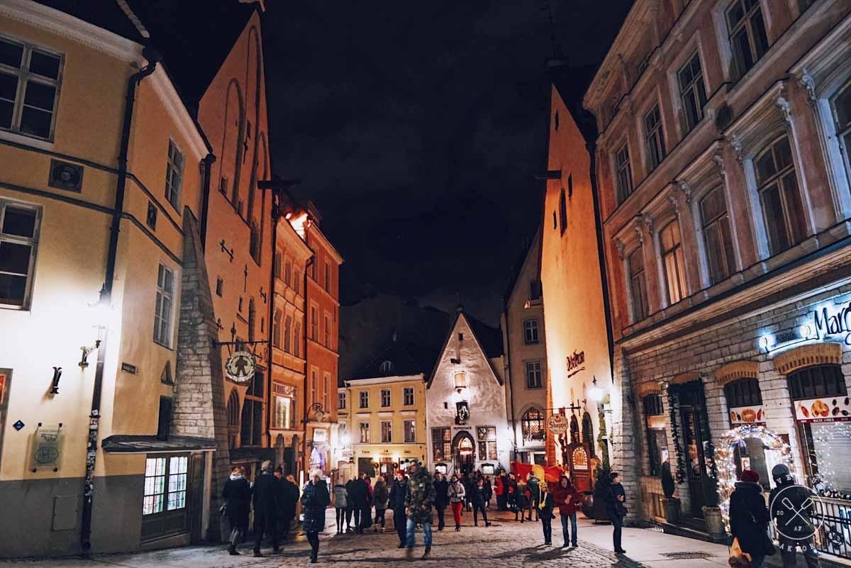 Travelling to Tallinn, Estonia