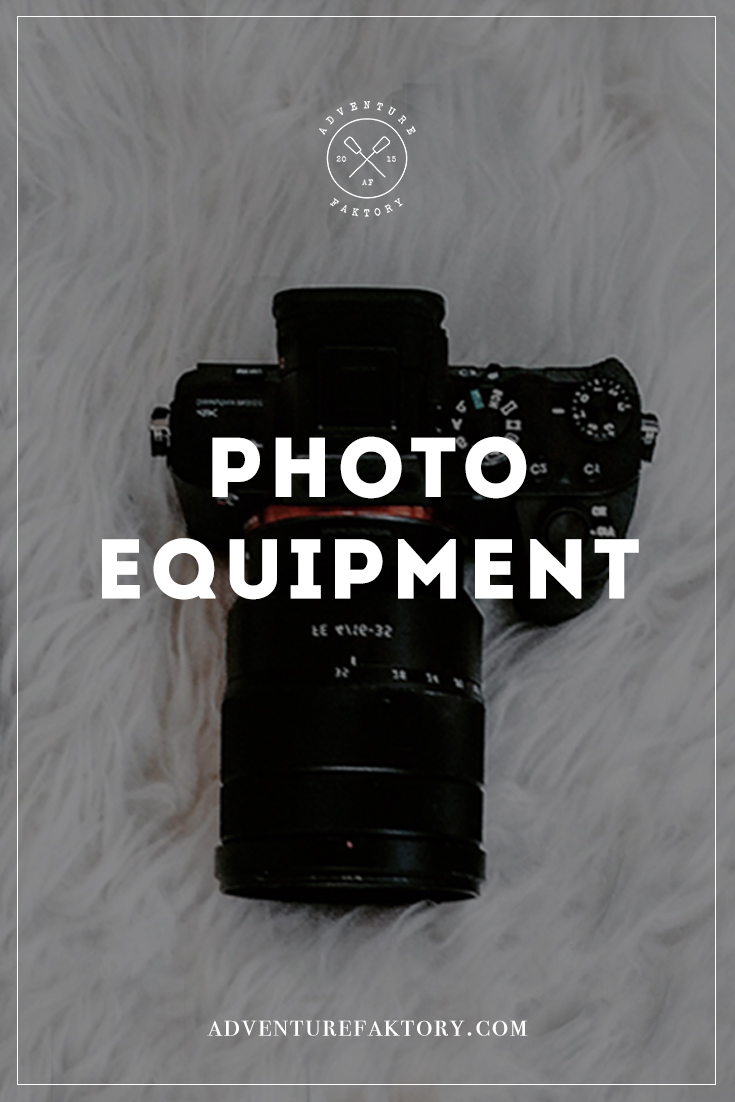 Essential Travel Photo Equipment