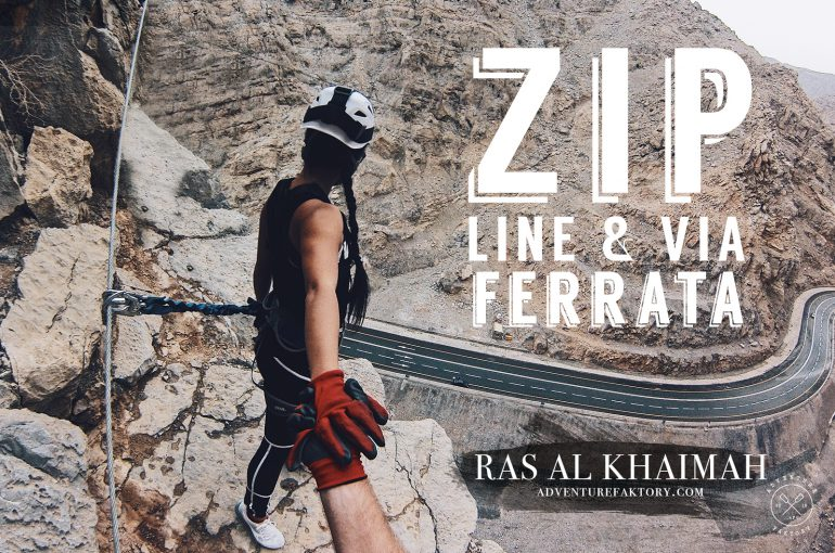 RAK Zipline & Via Ferrata