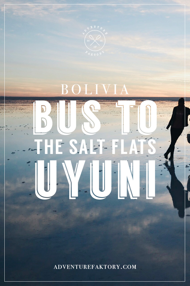 Uyuni Salt Flats by Bus