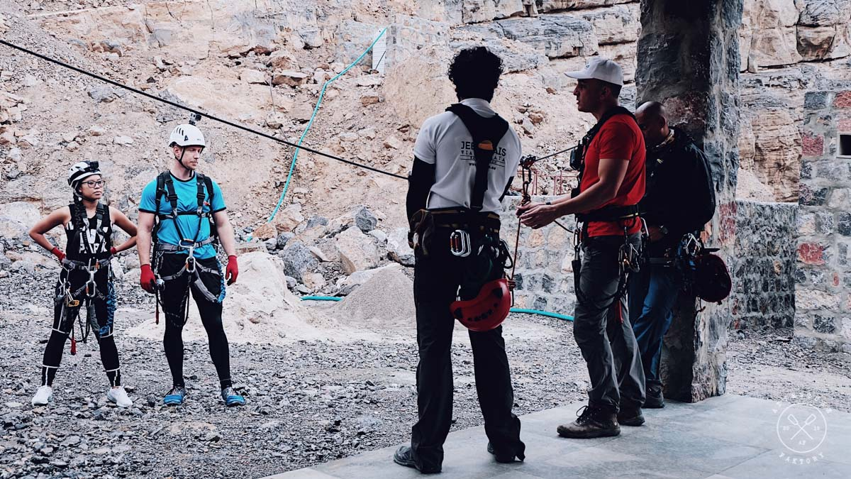 RAK Zipline & Via Ferrata Security Briefing