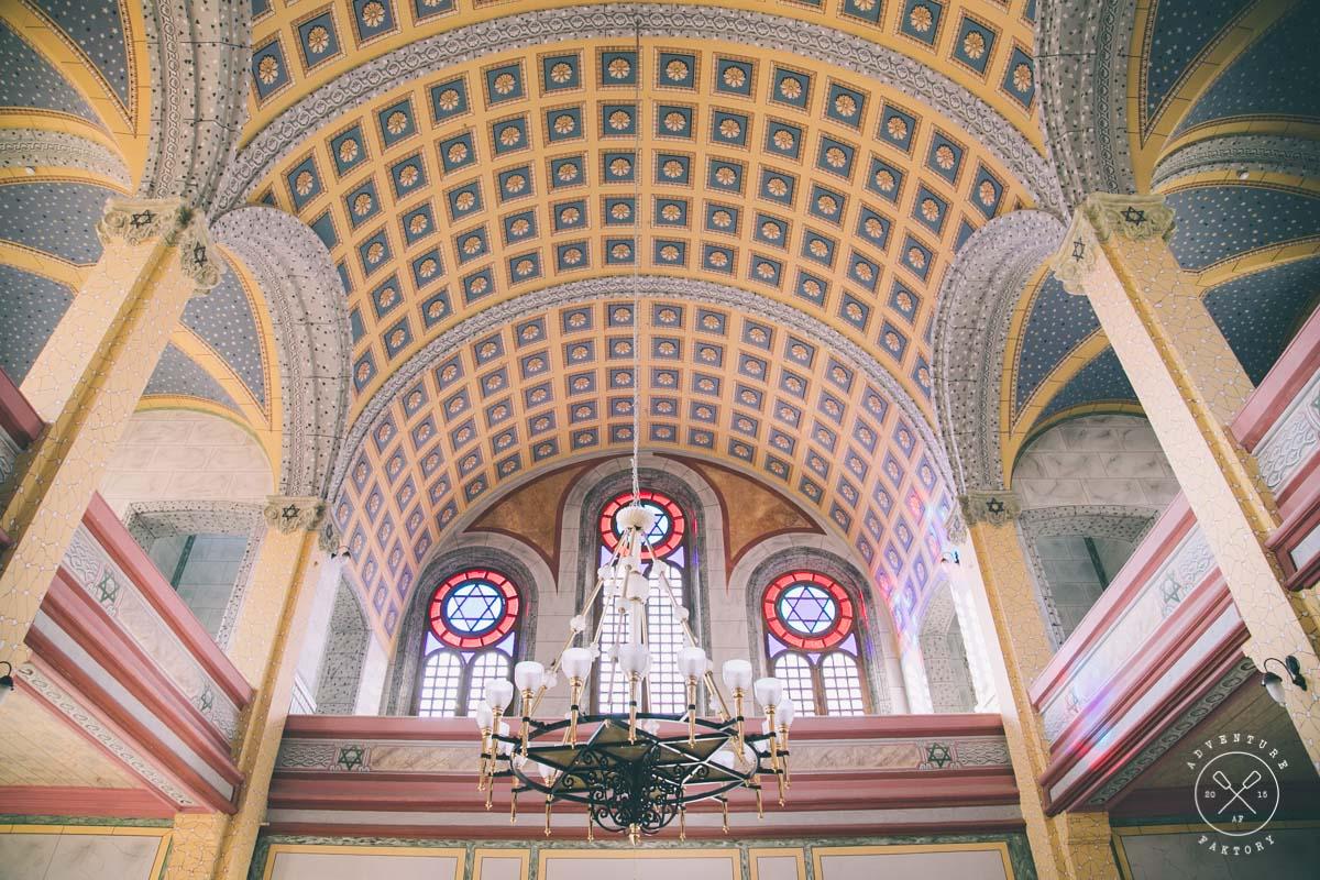 Tarihi Eser Synagogue in Edirne, Turkey with AdventureFaktory