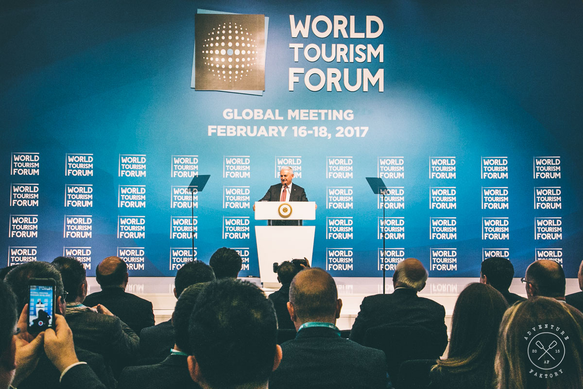 Binali Yıldırım, Prime Minister of Turkey, World Tourism Forum