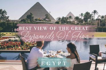 Best View Of The Great Pyramids Of Giza: The Mena House