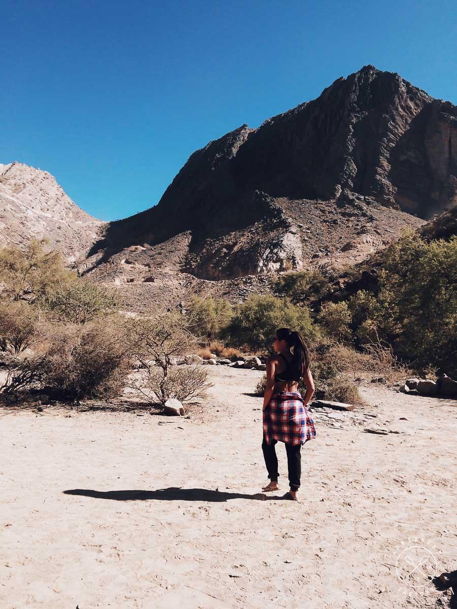 Camping in Jebel Shams, Oman
