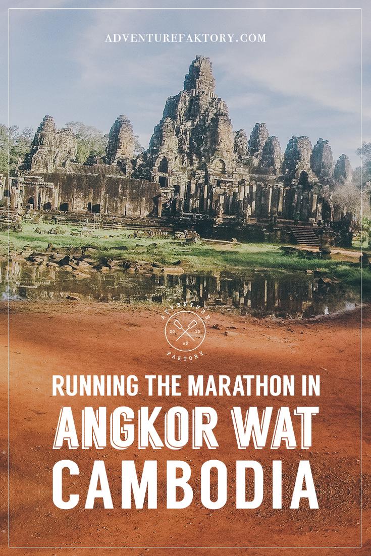Angkor Wat Marathon Cambodia