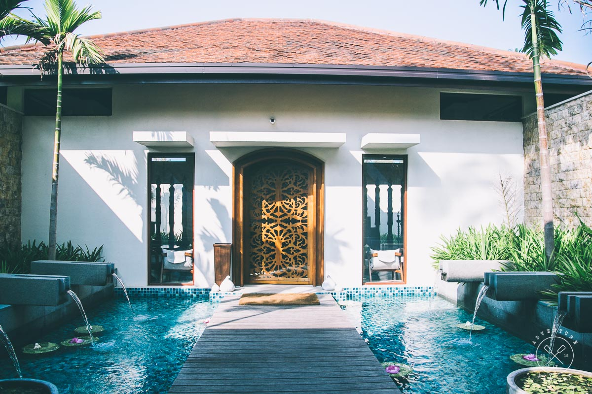 Anantara Peace Haven Tangalle Resort Spa Entrance