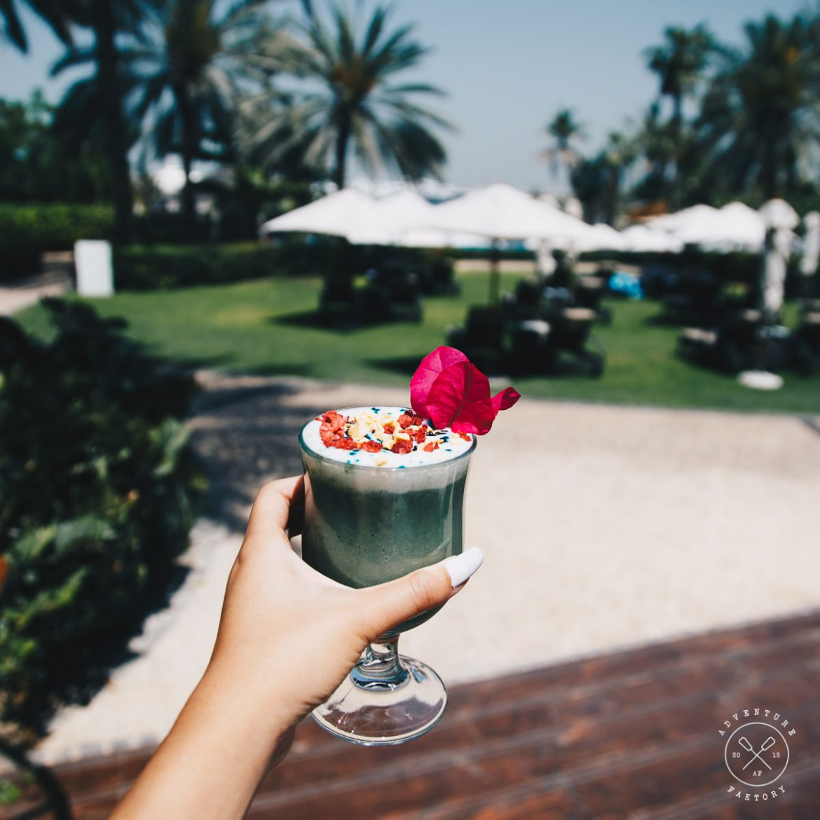Healthy Morning Routine SUP and Breakfast at Gourmet by Kcal at Le Meridien Mina Seyahi
