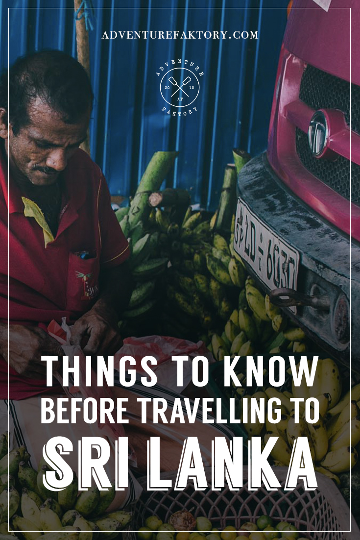 Things to know before traveling to Sri Lanka