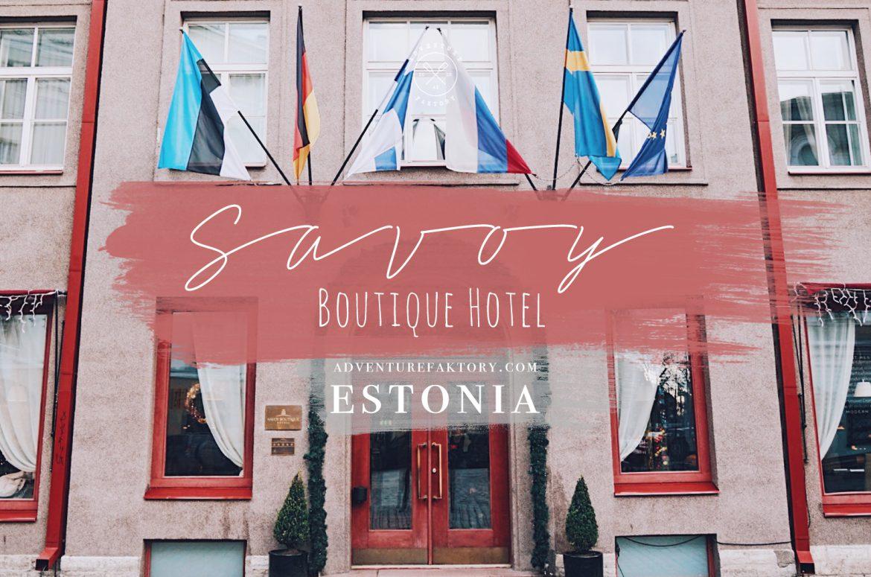 Savoy Boutique Hotel Tallinn