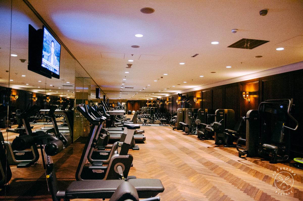 The Park Hyatt Vienna Gym