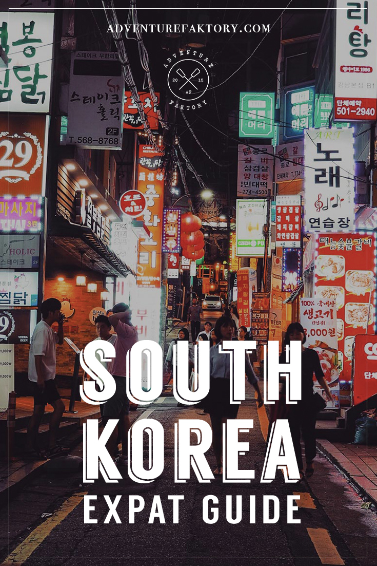 AdventureFaktory South Korea Expat Guide