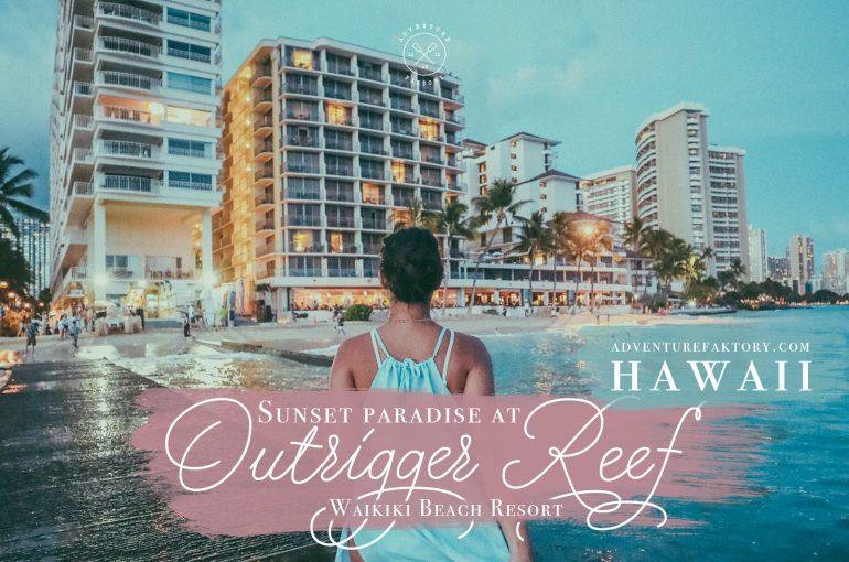 Sunset Paradise At Outrigger Reef Waikiki Beach Resort