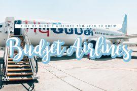 Budget Airlines around the world