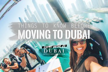 Things to know before moving to Dubai