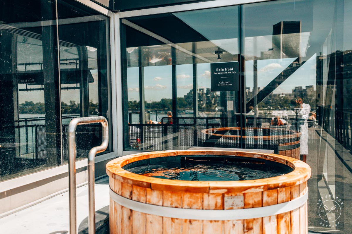 What to do in Montreal: Spa Bota Bota