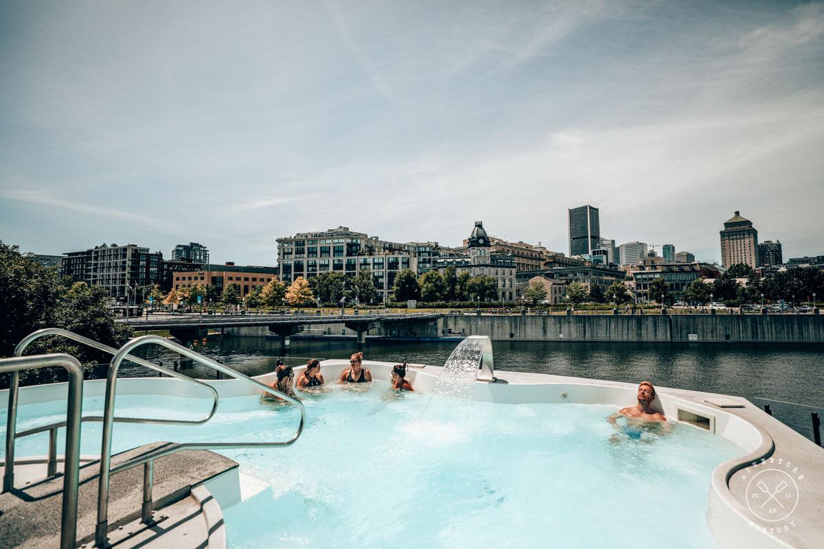 What to do in Montreal: Spa Bota Bota