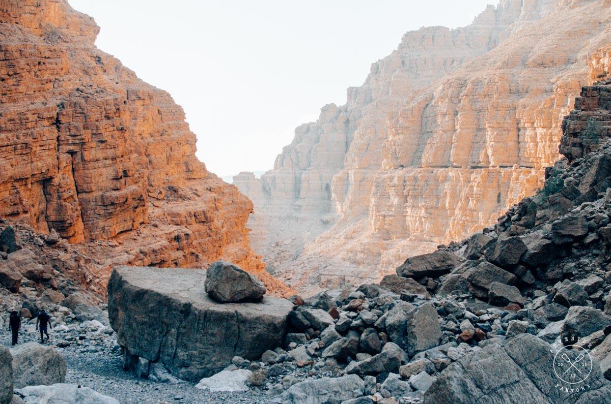 Trekking in Ras Al Khaimah, Wadi Shah