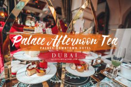 Afternoon Tea Palace Downtown