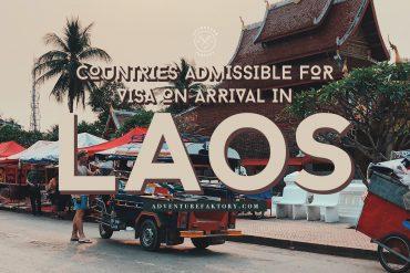 Laos Visa on Arrival Information