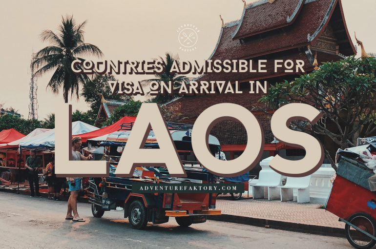 Laos Visa on Arrival Information